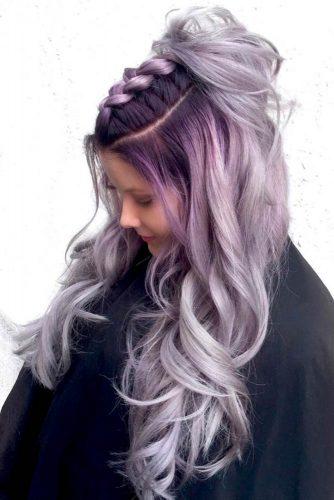 Par argintiu-violet