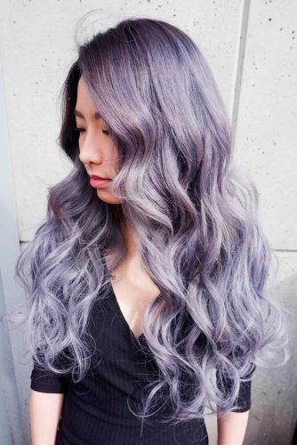 Par violet argintiu