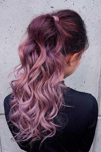 Par violet balayage