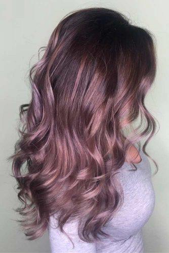 Par violet saten